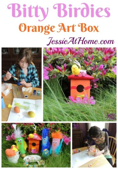 May Orange Art Box Projects https://jessieathome.com/may-orange-art-box-projects/
