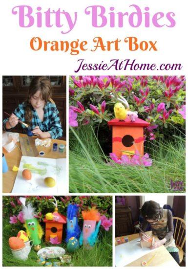 May Orange Art Box Projects https://jessieathome.com/may-orange-art-box-projects/