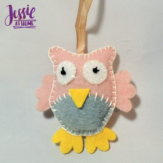 Cute Kits by Fabric Editions - review from Jessie At Home - Owl done