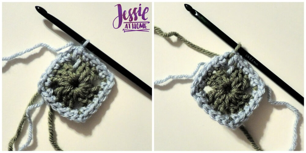 Julianna free crochet pattern by Jessie At Home - Round 2