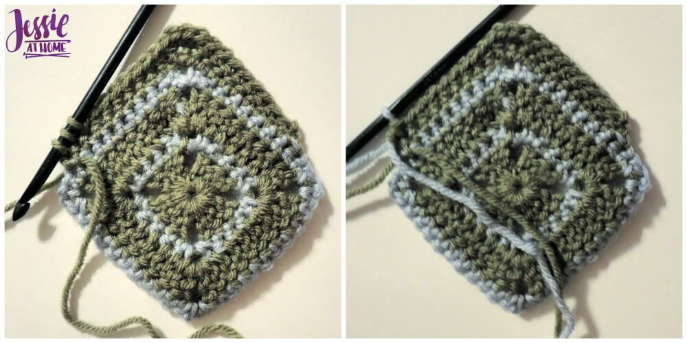 Julianna free crochet pattern by Jessie At Home - Side Color Change