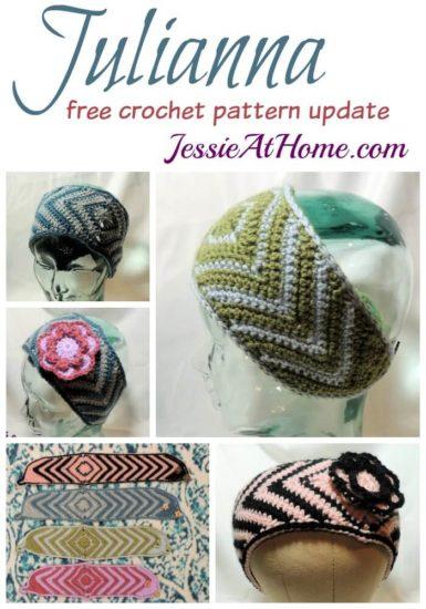 Julianna free crochet pattern update by Jessie At Home