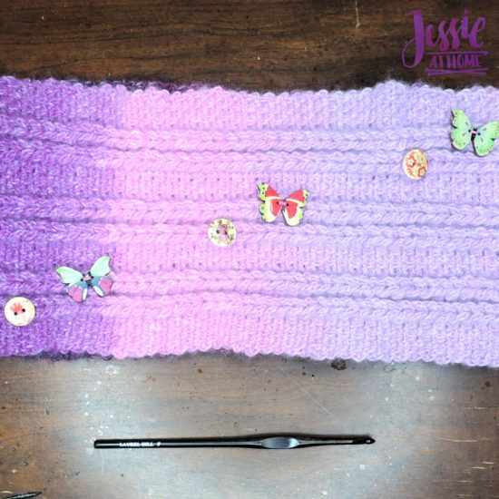 Loopy Love - free Jacob's Ladder Crochet Pattern by Jessie At Home - 4