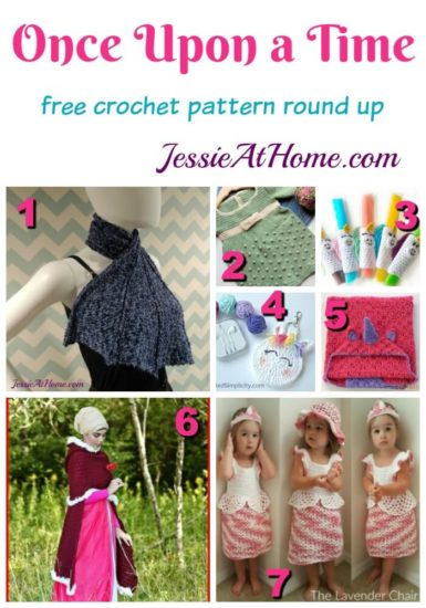 Once Upon a Time free crochet pattern round up from Jessie At Home