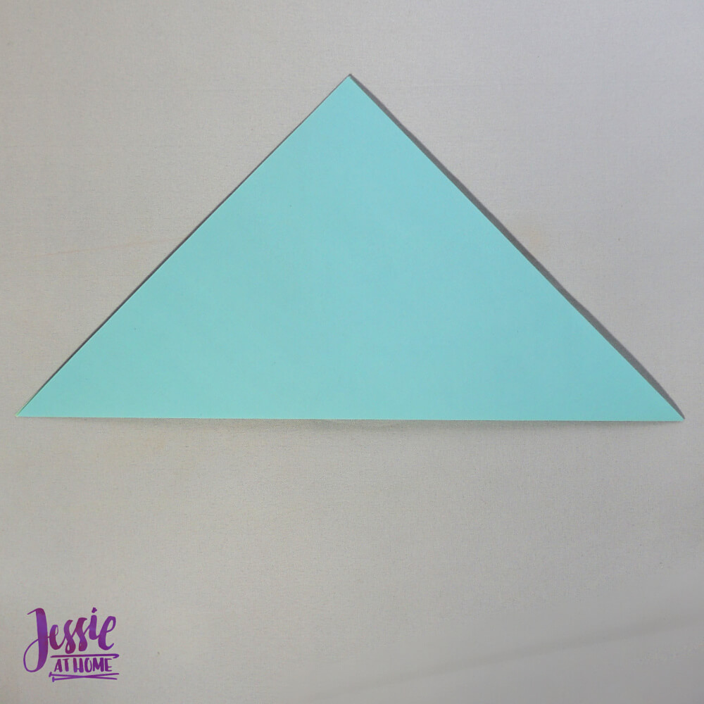 Easy Origami Cup Tutorial from Jessie At Home - Step 1