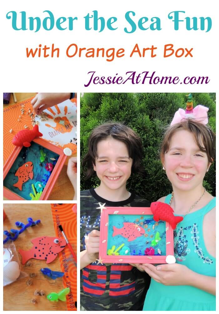 Under the Sea Fun with Orange Art Box from Jessie At Home