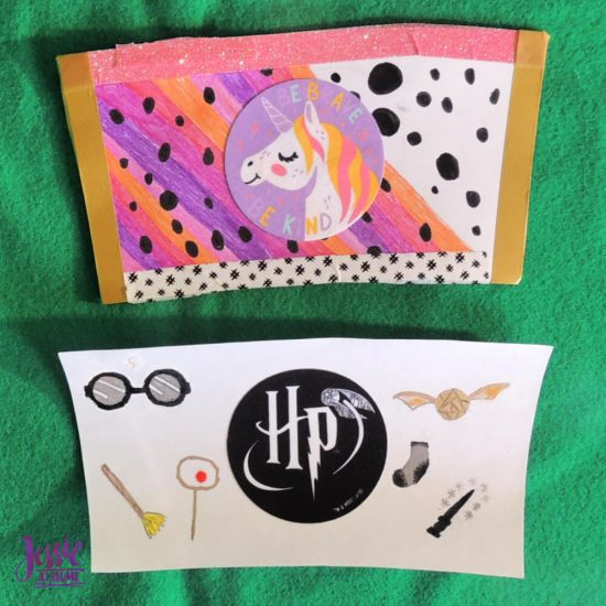Adhesive Fabric Patches featuring Harry Potter and Star Wars - Jessie At Home - Mug Insert