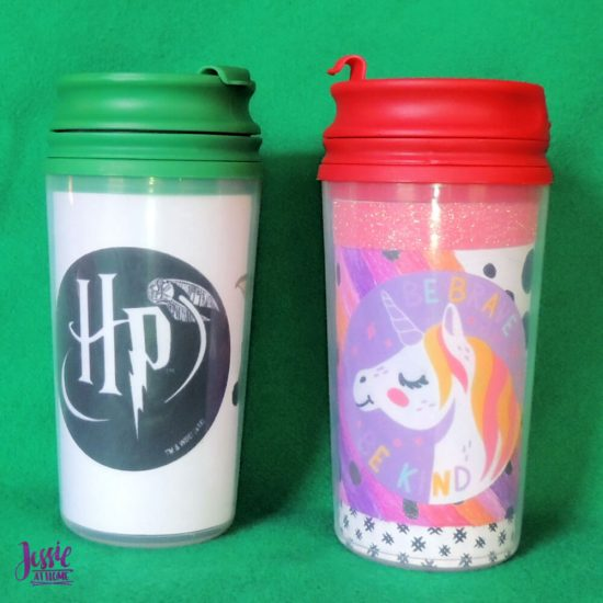 Adhesive Fabric Patches featuring Harry Potter and Star Wars - Jessie At Home - Travel Mug