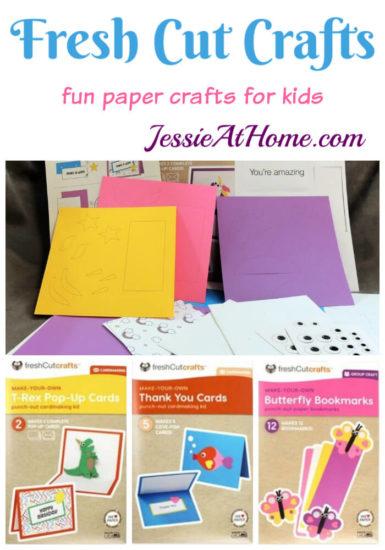 Fresh Cut Crafts - Paper Crafts For Kids