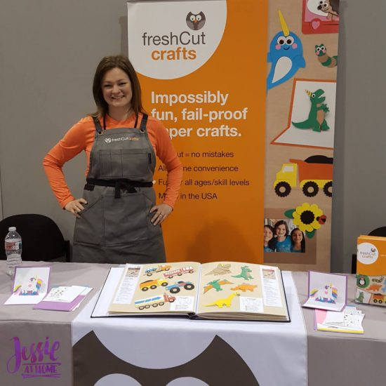Fresh Cut Crafts - Paper Crafts For Kids - booth
