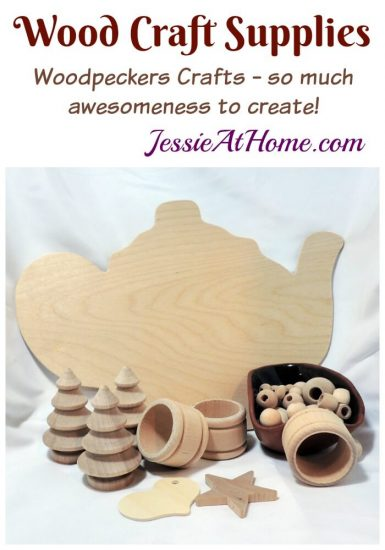 Wood Craft Supplies from Woodpecker Crafts review by Jessie At Home