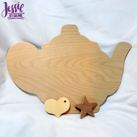 Wood Craft Supplies from Woodpecker Crafts review by Jessie At Home - fun shapes