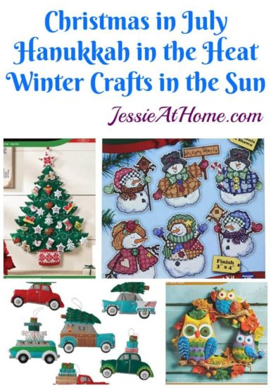 Christmas in July Craft Ideas - Hanukkah in the Heat - Celebrating in the Summer from Jessie At Home