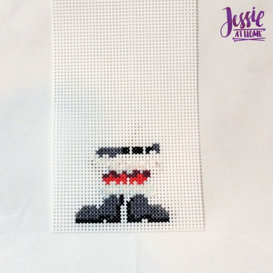 Cross Stitch Tips and Tricks - Vada's Santa