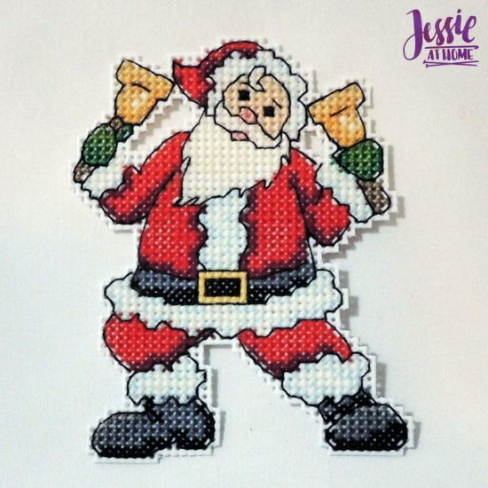 Cross Stitch Tips and Tricks - my Santa