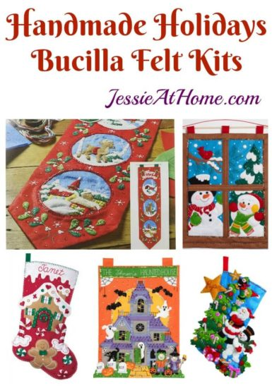 Handmade Holidays - Bucilla felt kits review from Jessie At Home