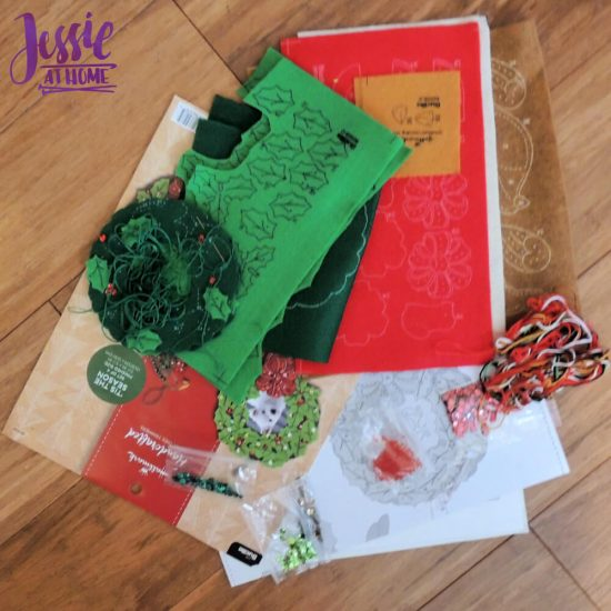 Handmade-Holidays-Bucilla-felt-kits-review-from-Jessie-At-Home-parts