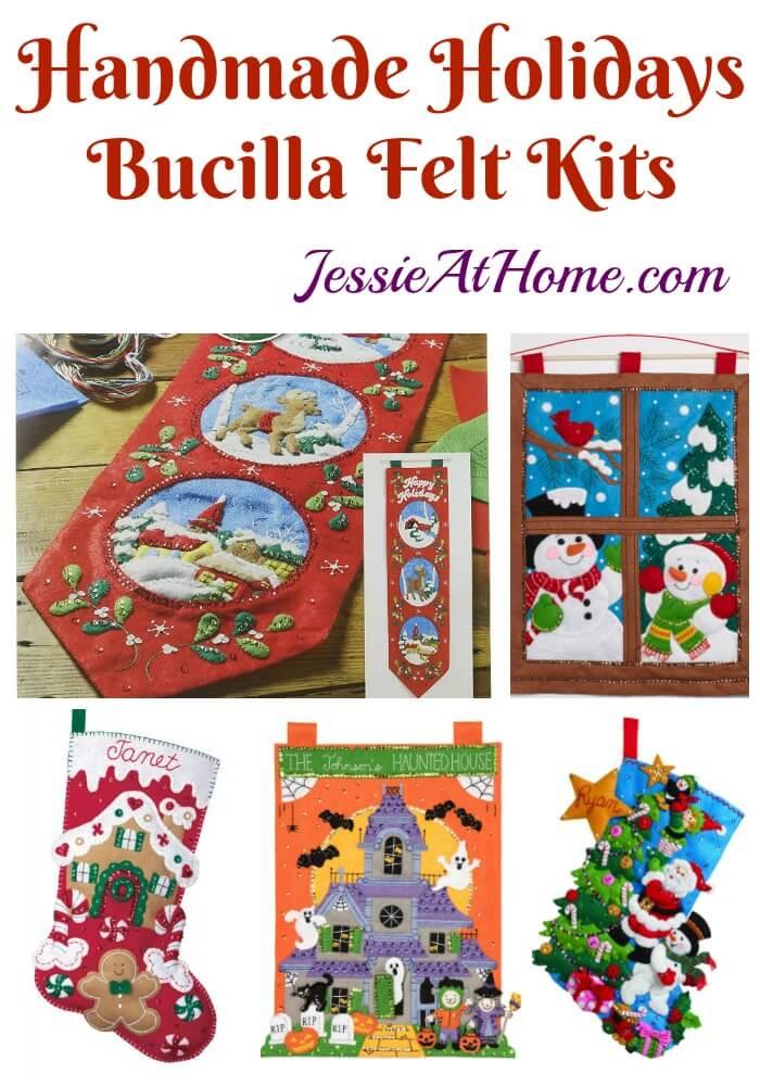 Handmade Holidays - Bucilla felt kits review from Jessie At Home