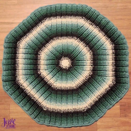 Mossy Oaks Rug crochet pattern by Jessie At Home - 2