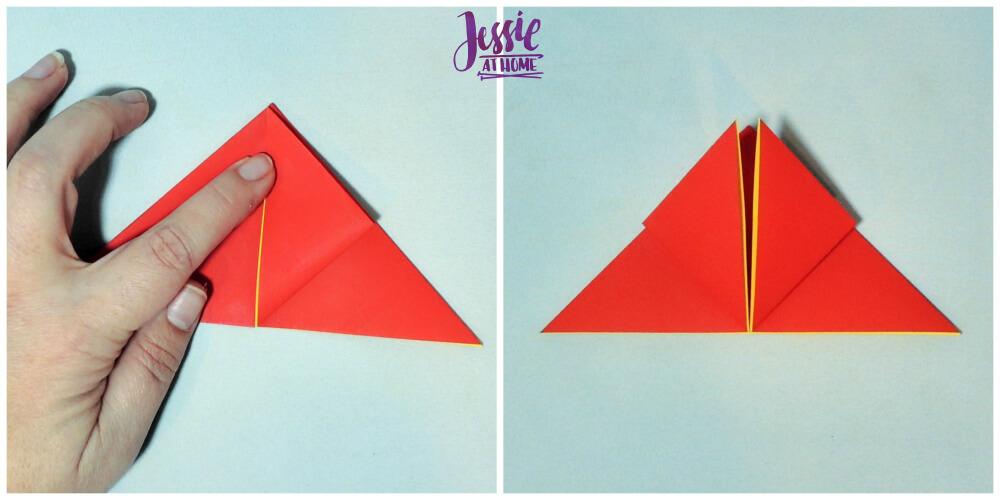 Origami Tulip tutorial from Jessie At Home 2