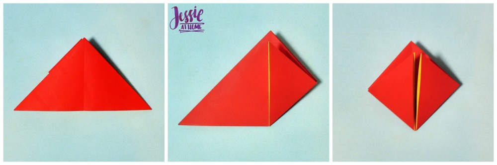Origami Tulip tutorial from Jessie At Home 3