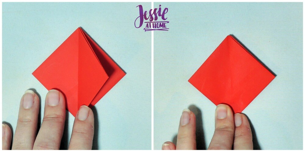 Origami Tulip tutorial from Jessie At Home 4