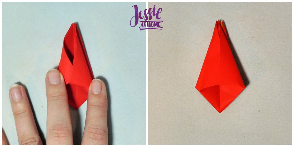Origami Tulip tutorial from Jessie At Home 6