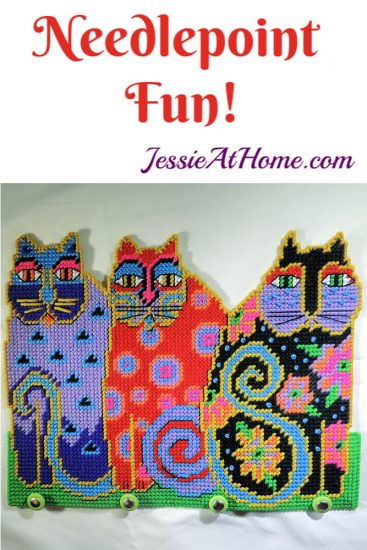 Needlepoint Fun with Design Works - Jessie At Home