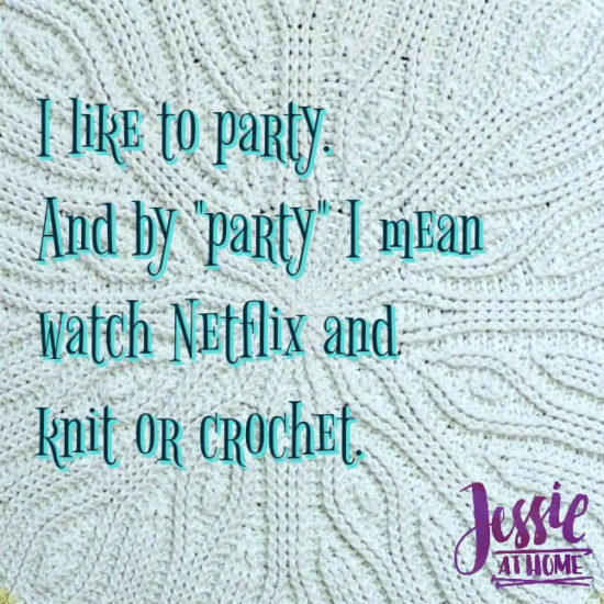 Party with yarn