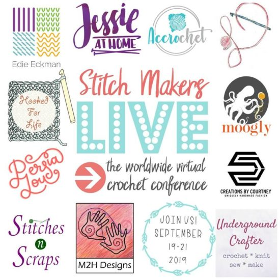 Stitch Makers Live 2019 - Logos
