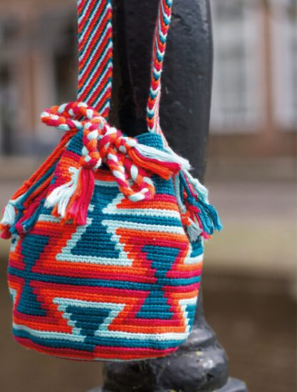 Tapestry Crochet Bags - Colourful Wayuu Bags to Crochet review from Jessie At Home - bowties are cool