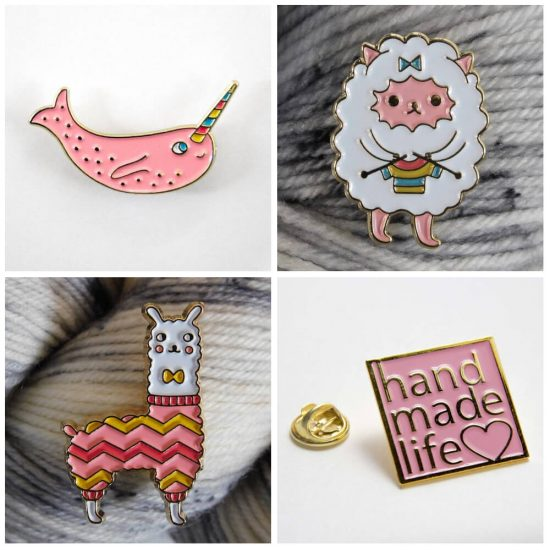 Gifts for Yarn Lovers from Global Backyard - Jessie At Home - pins