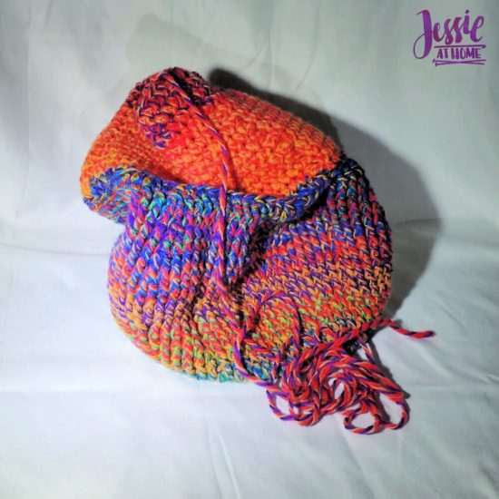 Halloween Basket Crochet Pattern by Jessie At Home - ready to fold
