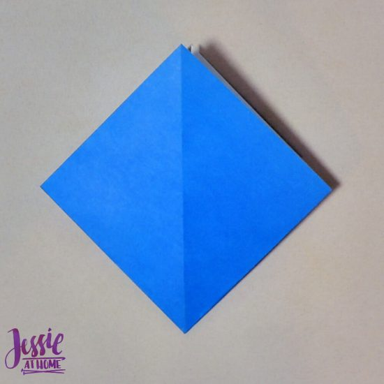 Origami Iris - Japanese Paper Folding Tutorial by Jessie At Home - 1