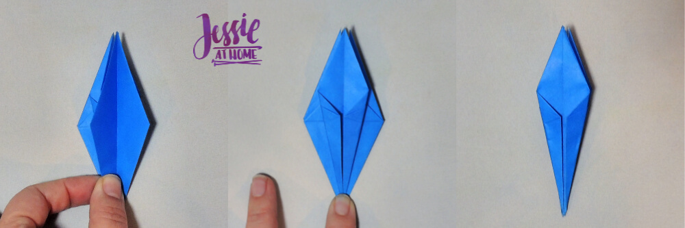 Origami Iris - A beautiful, dimensional flower that is sure to ... | 333x1000