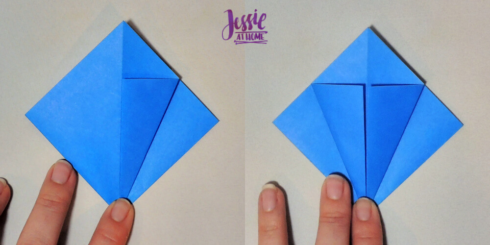 How to Fold a Traditional Origami Iris | 500x1000