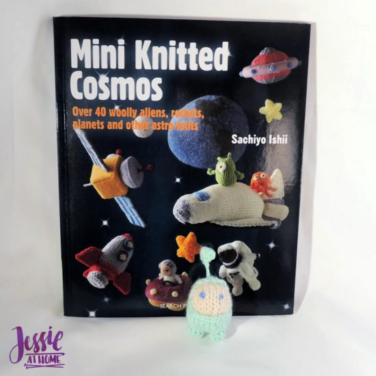 Space Knits for All - Mini Knitted Cosmos review by Jessie At Home - cover