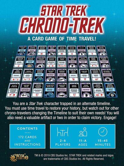 Star Trek Crono Trek - back