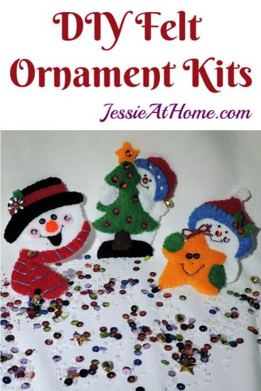 DIY Felt Ornament Kits review from Jessie At Home