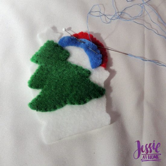 DIY Felt Ornament Kits review from Jessie At Home - In the Works