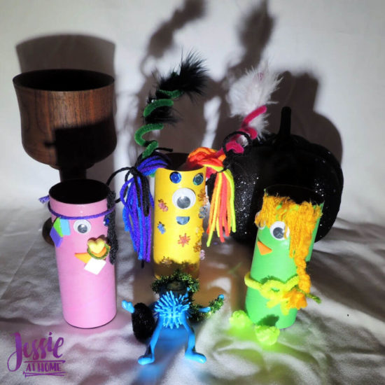 Monster Crafts October Orange Art Box - Jessie At Home - spooky