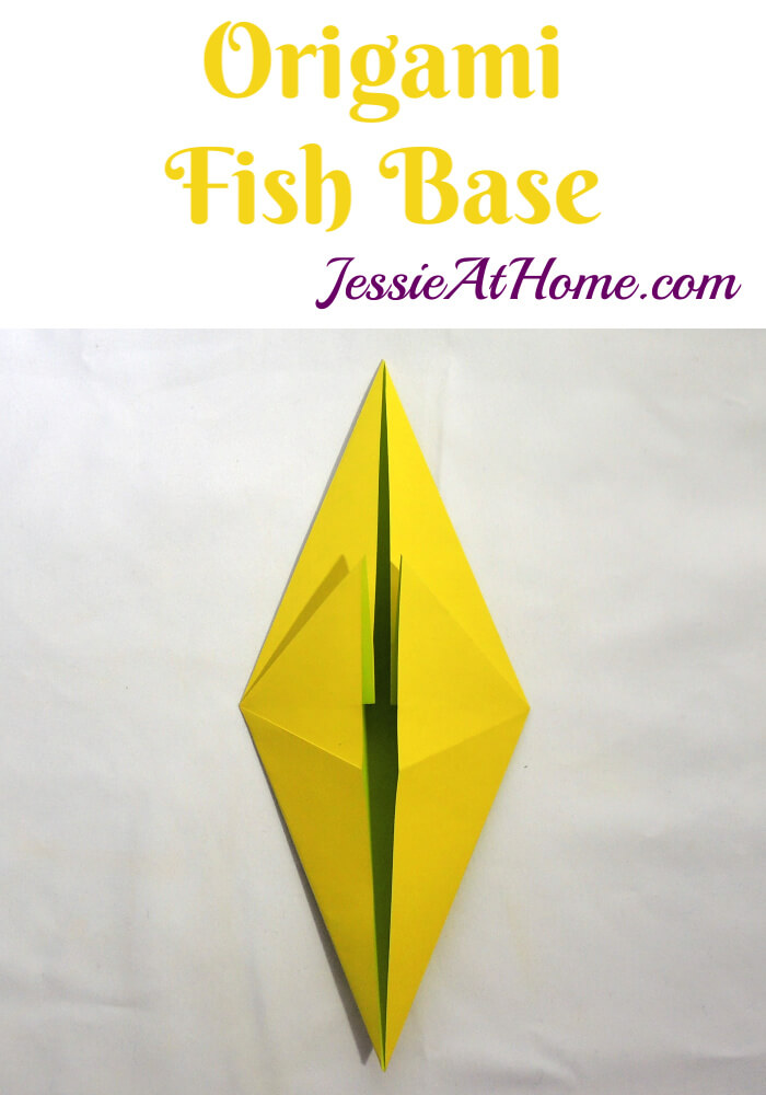 Origami Fish Base Tutorial by Jessie At Home