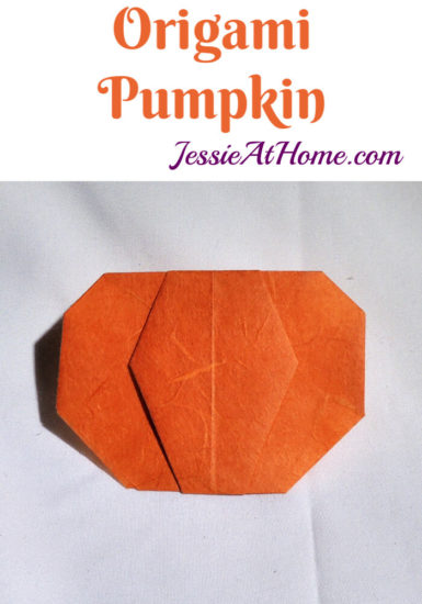 Origami Pumpkin Pattern Tutorial by Jessie At Home