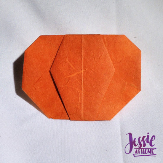 Origami Pumpkin Pattern Tutorial by Jessie At Home - Done