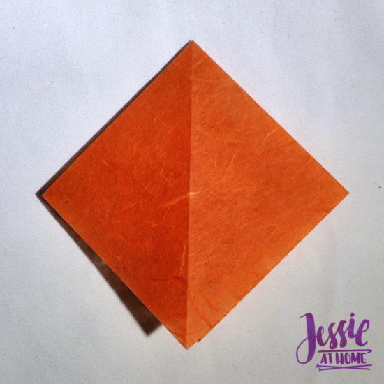 Origami Pumpkin Pattern Tutorial by Jessie At Home - Step 1