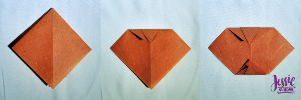 Origami Pumpkin Pattern Tutorial by Jessie At Home - Step 6