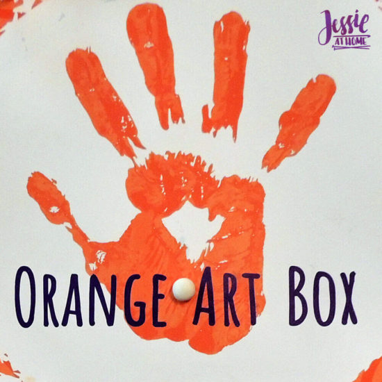 Arctitc Friends Orange Art Box Projects from Jessie At Home - Small Circle of Clay