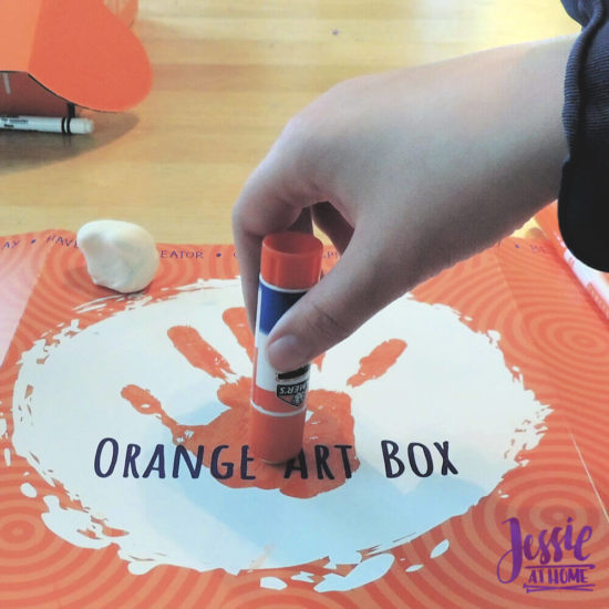 Arctitc Friends Orange Art Box Projects from Jessie At Home - Social