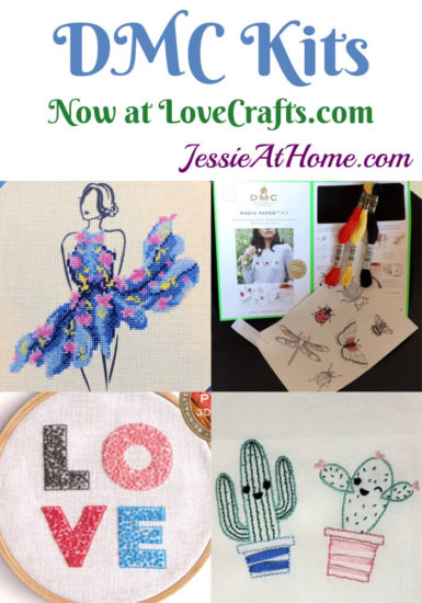 DMC Kits & Supplies now available from Love Craft