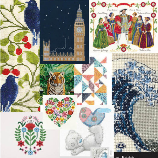 DMC Kits & Supplies now available from Love Craft - Cross Stitch kits
